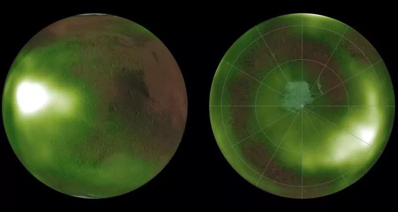 В атмосфере Марса зафиксировали пульсирующее свечение