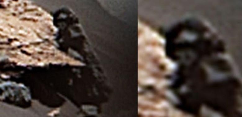 За марсоходом Curiosity кто-то наблюдал: опубликованы странные фото с Марса