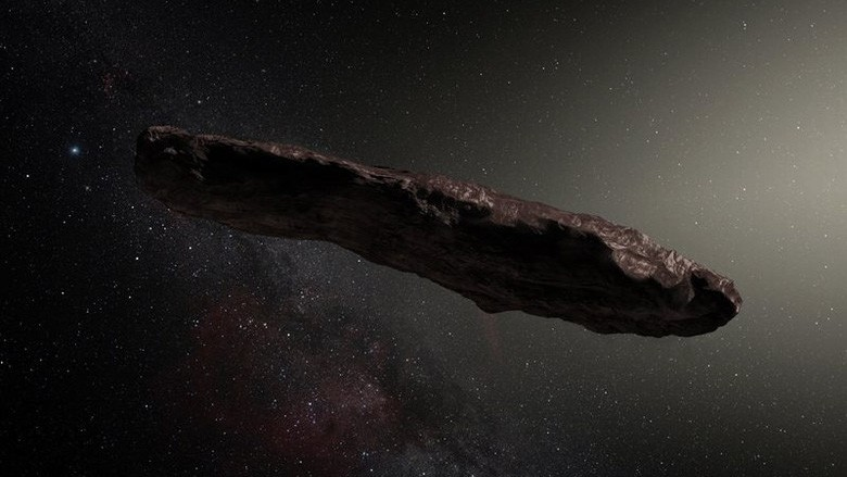 Все-таки «инопланетный зонд»: ученые не могут объяснить природу Оумуамуа
