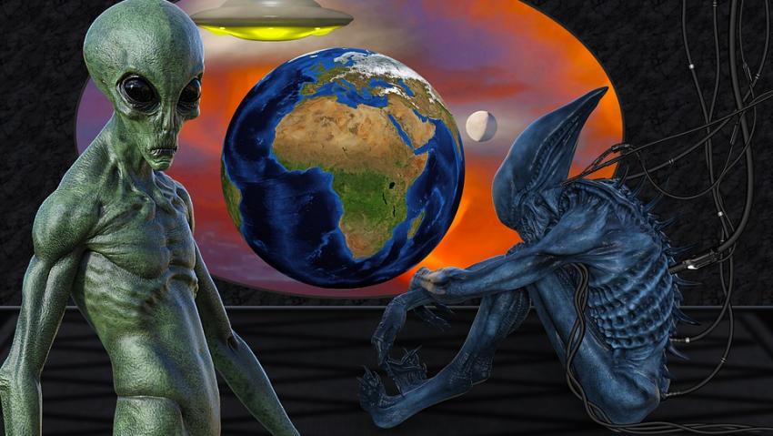 Пришельцы собирают данные о Земле, чтобы нанести их на карту Вселенной