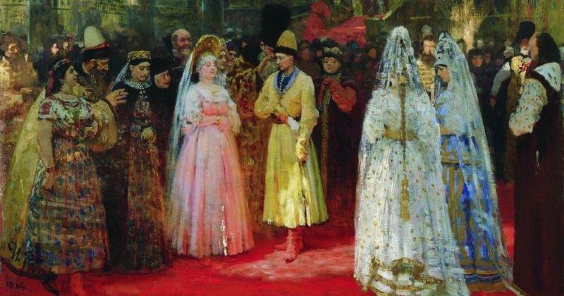 Смотрины: как на Руси цари выбирали невесту