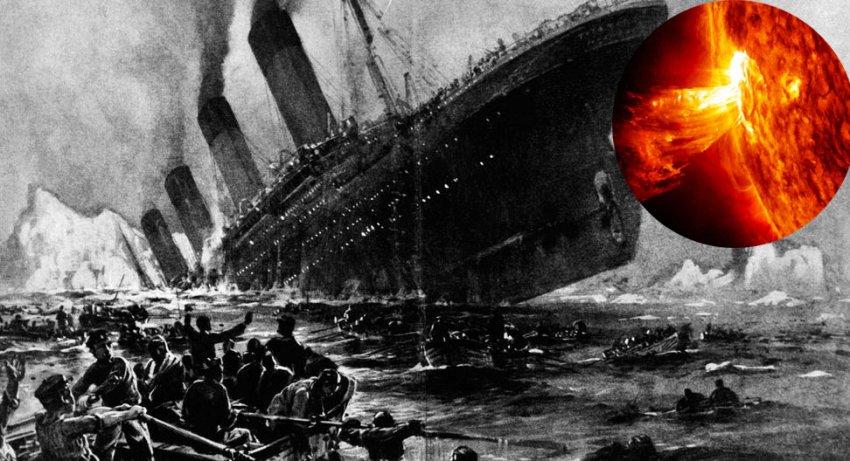 """Новая версия крушения """"Титаника"""": лайнер погубила мощная вспышка на Солнце"""