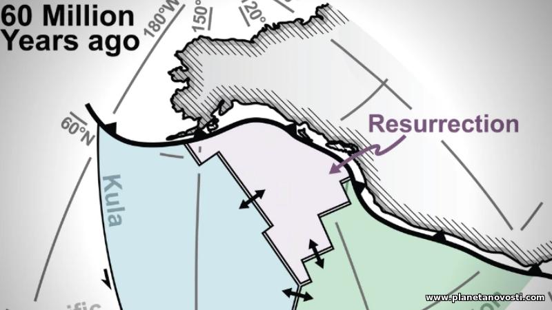 Под Канадой обнаружена утерянная тектоническая плита
