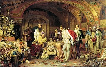 Опричники Ивана Грозного