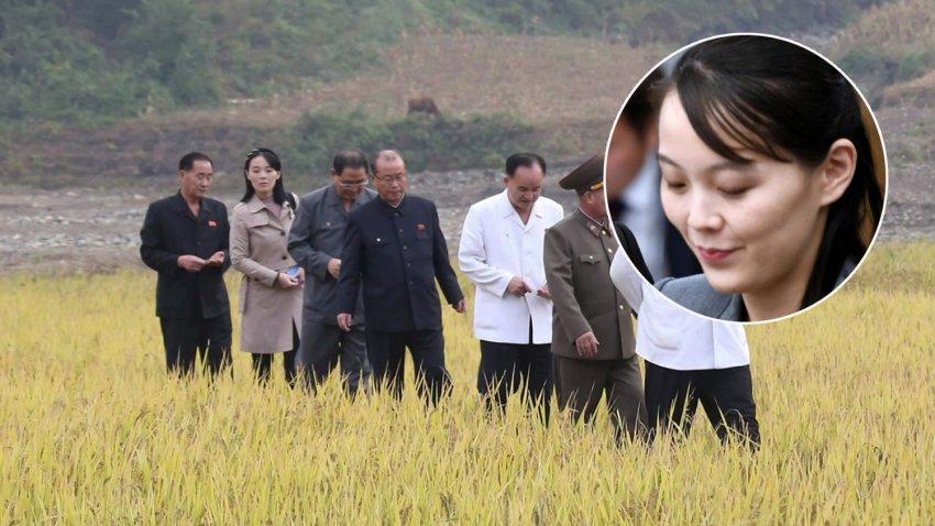 Сестра Ким Чен Ына впервые за два месяца появилась на публике