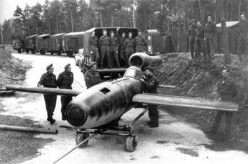 Немецкие летчики-смертники против Красной Армии