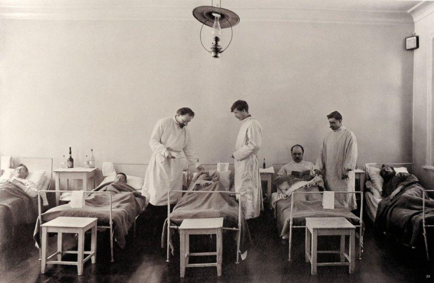 Смертоносная волна эпидемий в России 1918-1921 годов