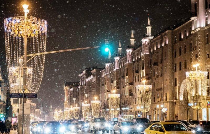 Какие новогодние мероприятия пройдут в Москве на Тверской улице в 2021 году