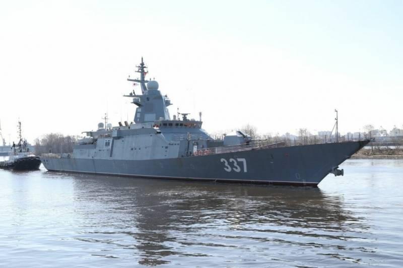 Подробности о новом российском корвете Гремящий проекта 20385