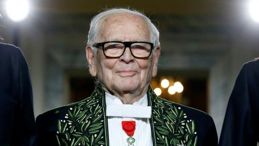 Модельер Пьер Карден скончался 29 декабря 2020 года в американском госпитале Парижа
