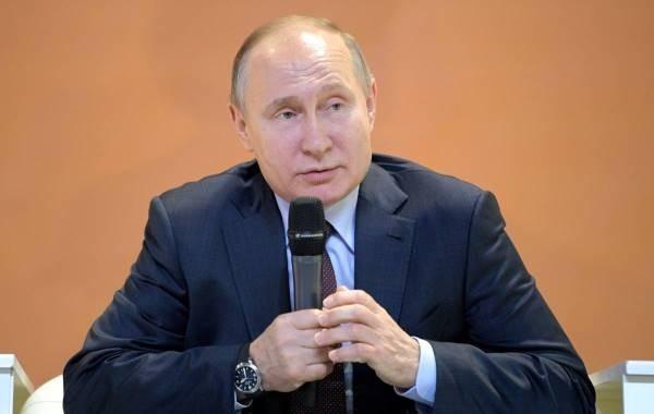 Путин высказался об амнистии для заключенных по уголовным делам