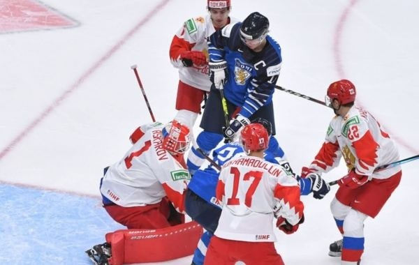 Сборная России уступила Финляндии в матче за бронзовые медали молодежного ЧМ