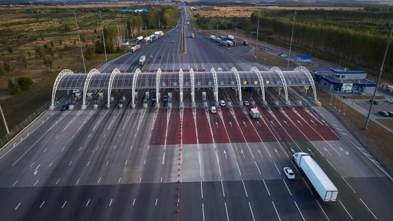 В России ввели штраф за проезд без оплаты по платной дороге в 2021 году
