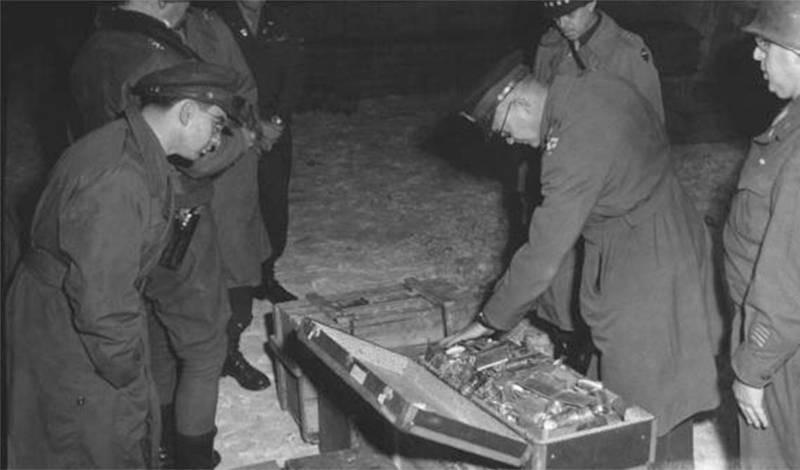 Тайна пропажи золота Третьего Рейха