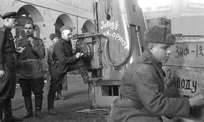 История выплаты послевоенных репараций от Германии для СССР