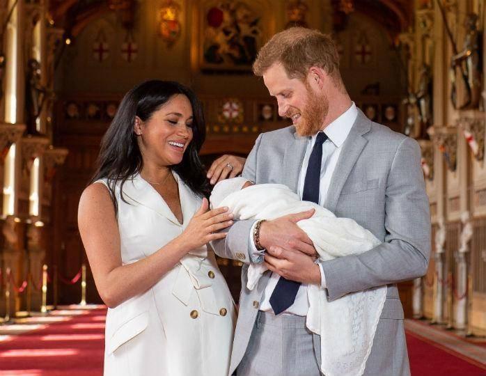 В Британии назвали возможный будущий титул сына принца Гарри и Меган Маркл