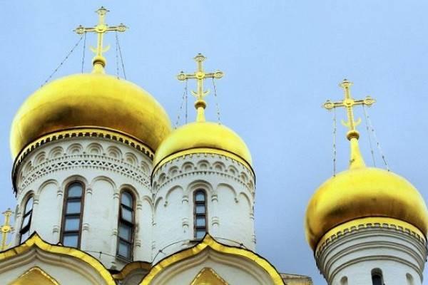 История традиция покрытия золотом куполов православных храмов