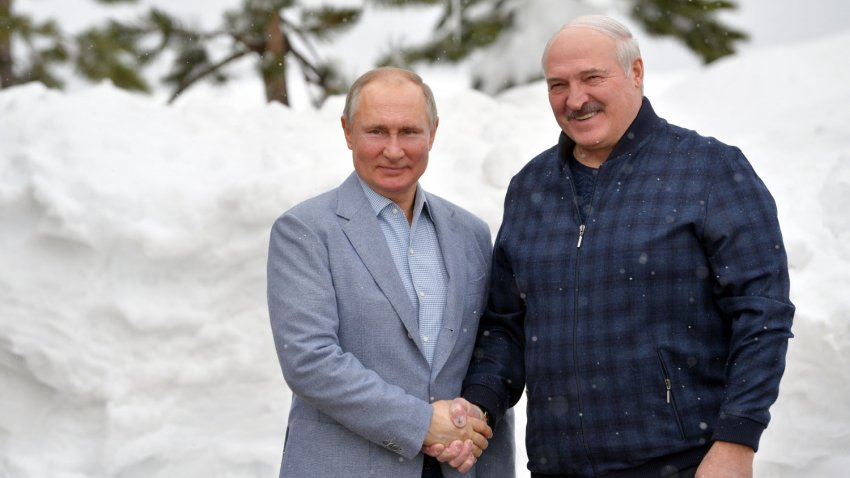 Александр Лукашенко и Владимир Путин провели встречу в Сочи