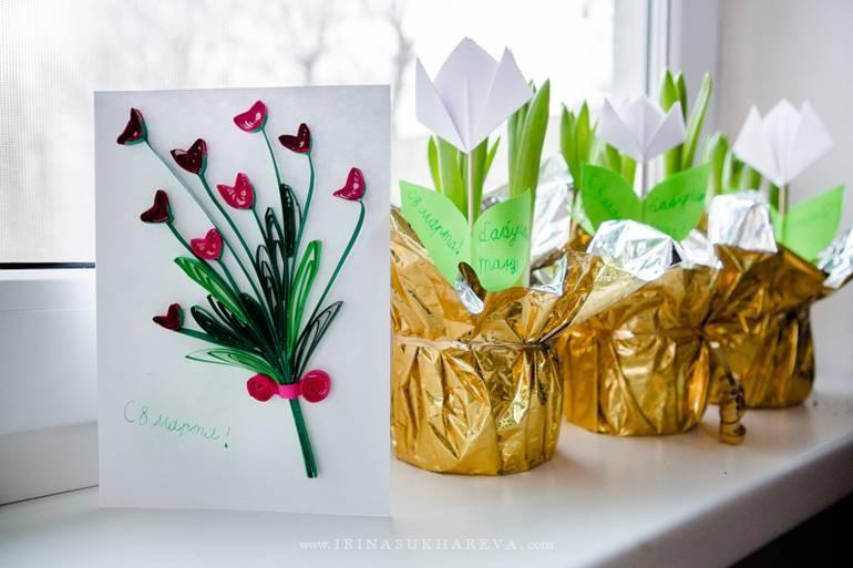 Подарок на 8 Марта отражает отношение мужчины к женщине