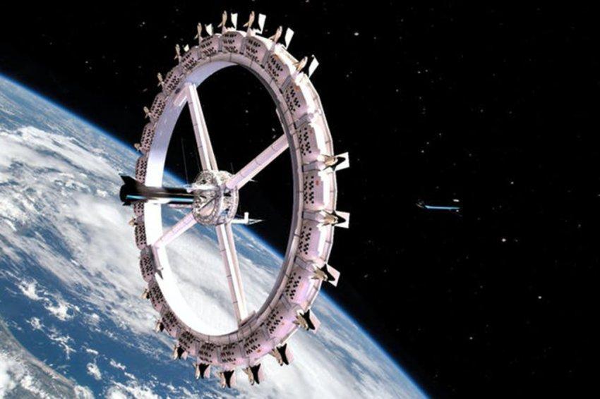 Как будет выглядеть первый космический отель