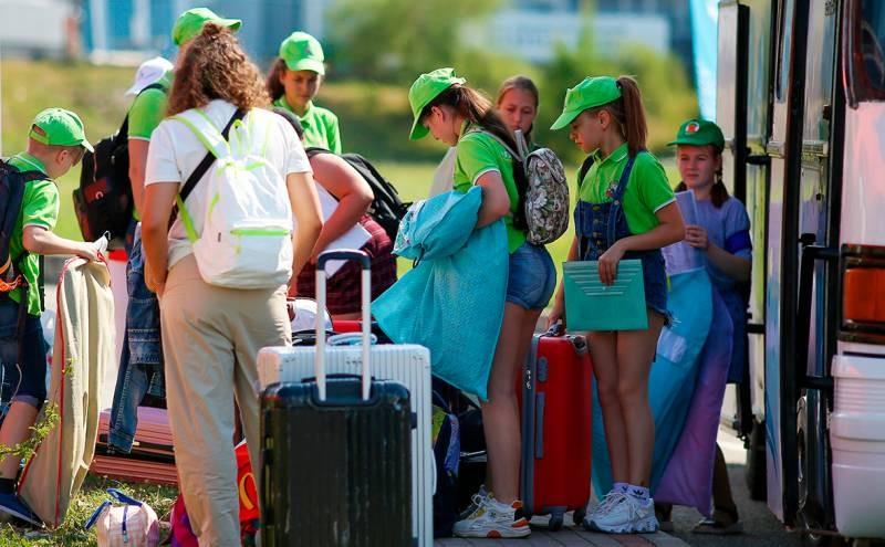 Запрет на отдых детей за пределами родного региона отменили