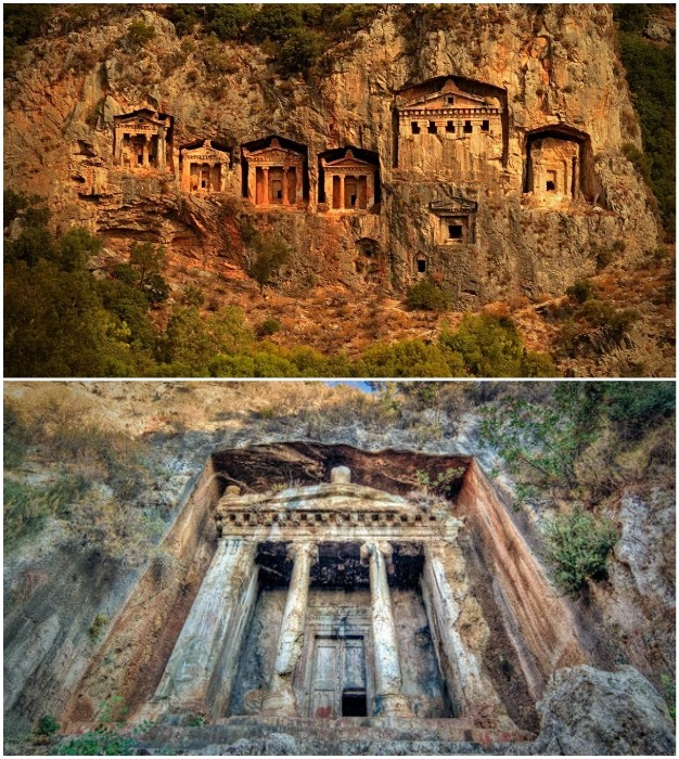 ТОП-8 Сохранившихся древних храмов, построенных в скалах