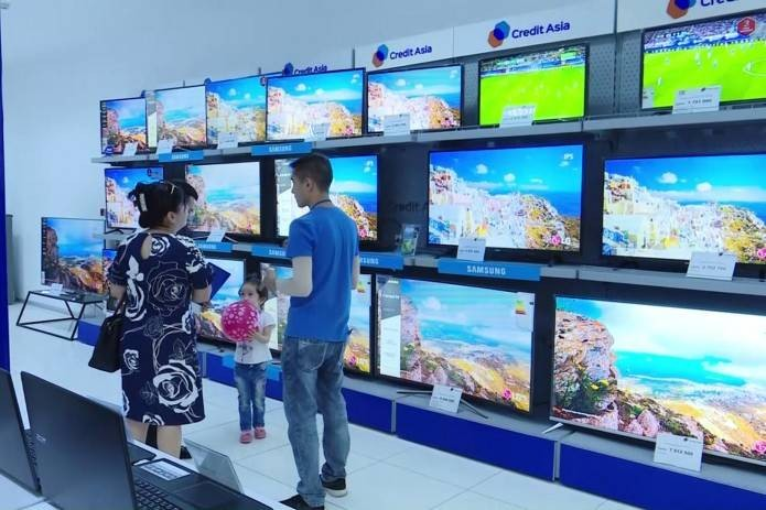 """С инновационными решениями компании """"Кредит Азия"""" современные телевизоры доступны каждому"""