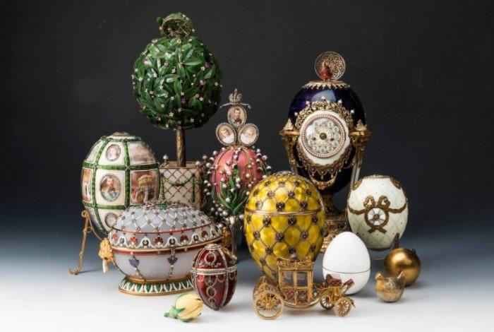 История и судьба императорской коллекции яиц Фаберже