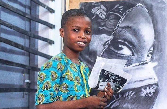 Работы этого мальчика из бедной семьи выполнены настолько профессионально, что не могут не вызвать зависть даже у признанных мэтров живописи