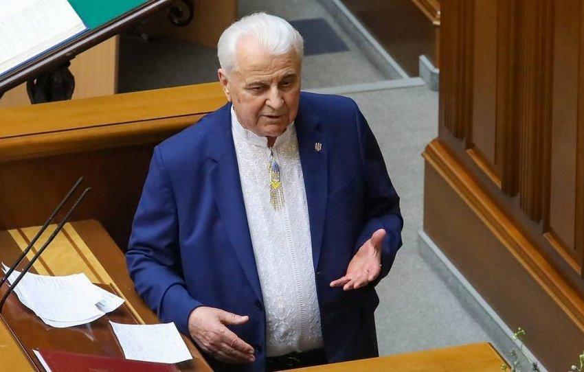 Кравчук выдвинул ультиматум для переговоров по Донбассу из-за Пироговой