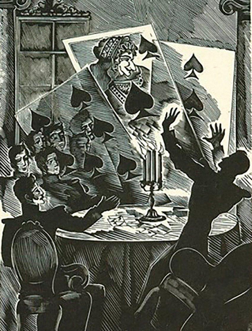 Как русские дворяне были одержимы игрой в карты