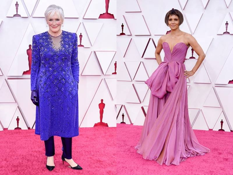 «Оскар-2021»: лучшие платья на красной дорожке