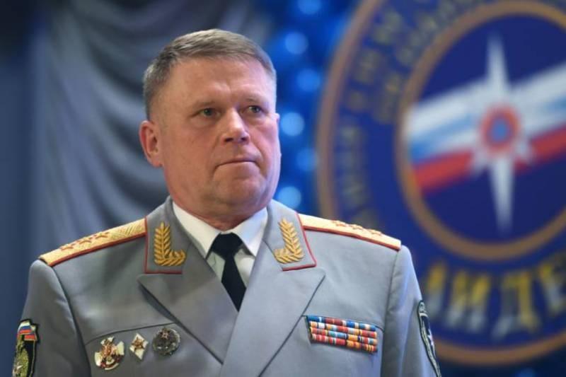 Заместитель главы МЧС Павел Барышев отправлен в отставку