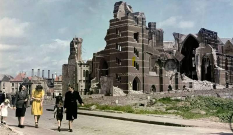 Как выглядела Европа после Второй мировой войны