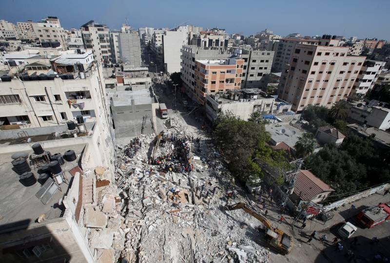 Информация о том, что происходит 19 мая 2021 года в конфликте между Израилем и Палестиной