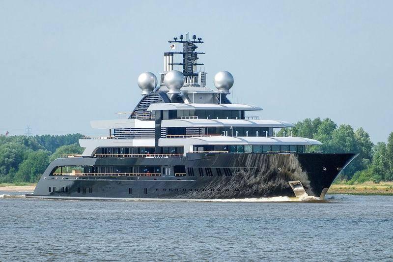 Топ-5 яхт, стоимость которых повергает в шок