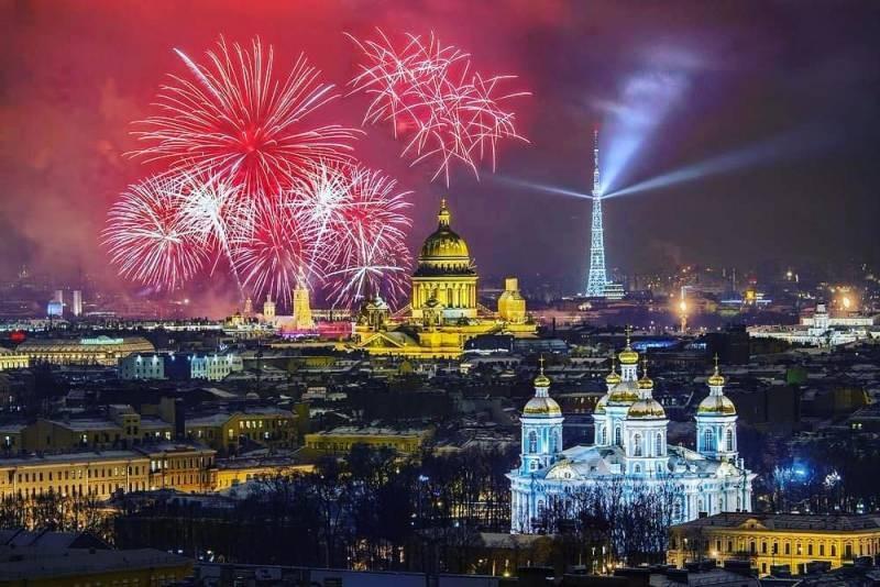 Какие мероприятия в Санкт-Петербурге проведут с 29 по 30 мая 2021 года в честь «Дня города»