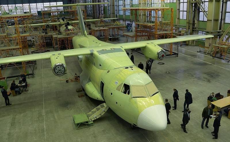 Испытания транспортного самолёта Ил-112В в 2021 году