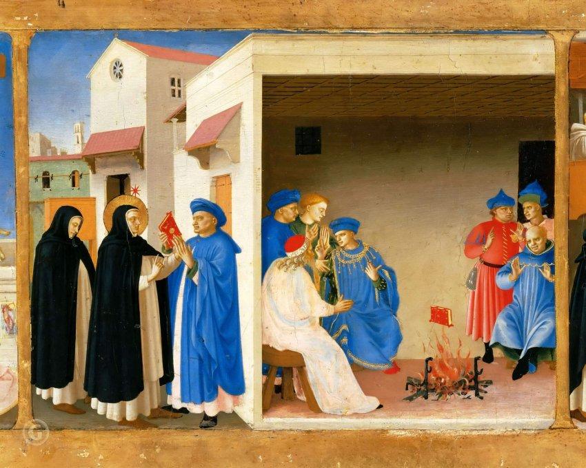 Неопалимая книга: одно из чудес средневековья