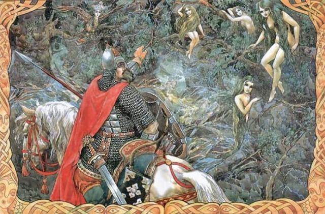У Пушкина русалка на ветвях сидит — почему не в воде?
