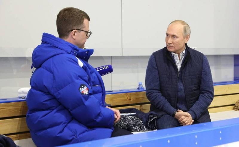 Владимир Путин ответил на вопросы, касающиеся украинской повестки