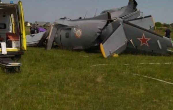 Семь человек погибли в Кузбассе во время жесткой посадки самолета