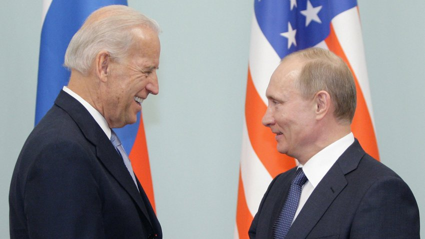Джо Байден и Владимир Путин встретятся 16 июня 2021 года в Женеве