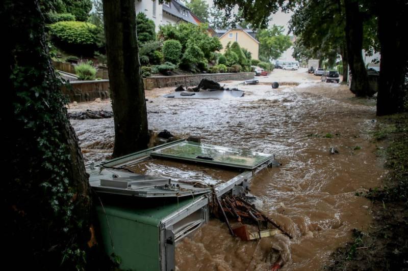 В Германии произошло мощное наводнение, есть пострадавшие
