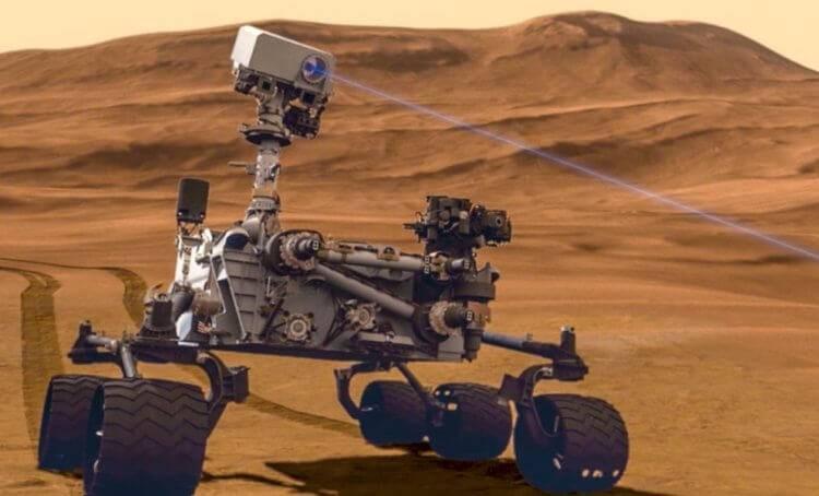 Марсоходу «Кьюриосити» удалось найти еще одно доказательство того, что жизнь на Марсе возможна