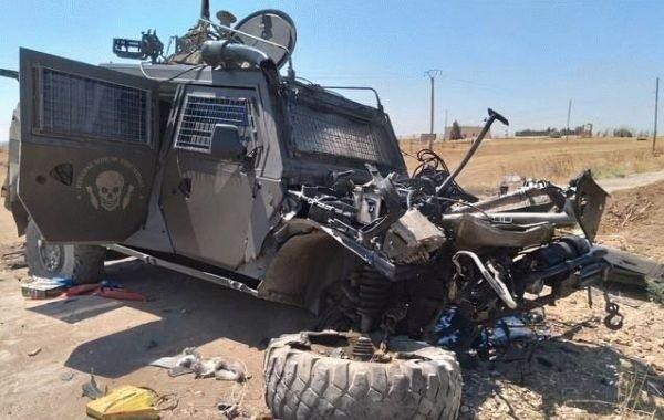 В Сирии боевики напали на бронеавтомобиль российских военных