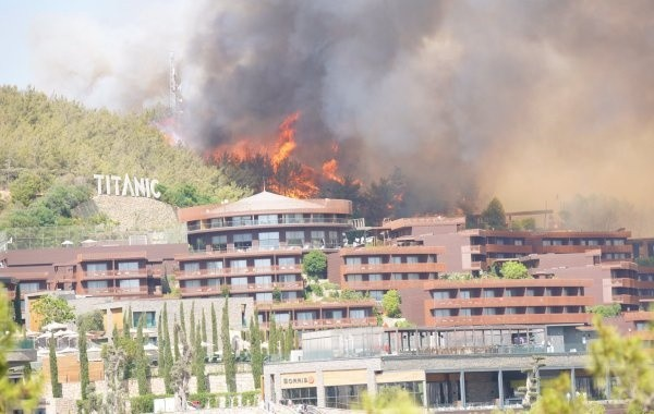 Российских туристов могут эвакуировать из Турции из-за пожаров
