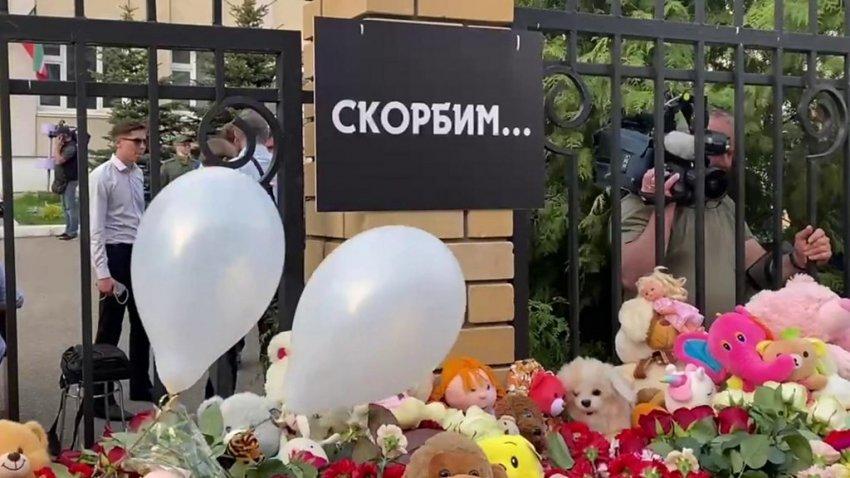 Появилось видео допроса парня, устроившего стрельбу в школе Казани