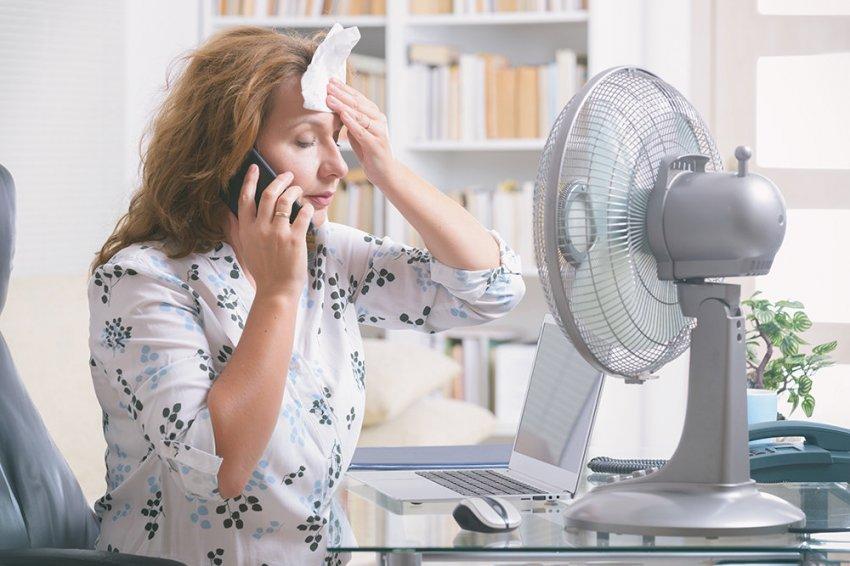 Как должен быть организован рабочий процесс при высокой температуре воздуха
