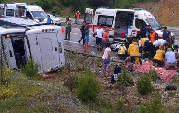 Российские туристы погибли в ДТП с автобусом в Турции